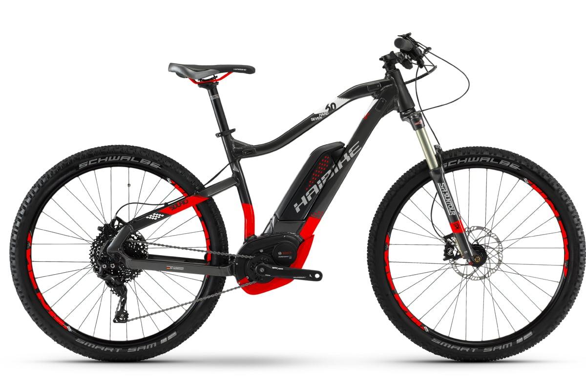 haibike elektro fahrrad sduro bosch cx 500 wh hardseven 6 0 11 gang xt 2018 bike park. Black Bedroom Furniture Sets. Home Design Ideas