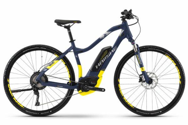 HAIBIKE Damen Elektro Trekking Fahrrad SDURO Cross 7.0