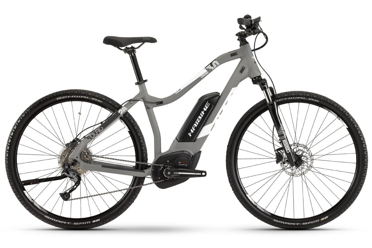 haibike damen elektro fahrrad sduro bosch cx 500wh cross 3. Black Bedroom Furniture Sets. Home Design Ideas
