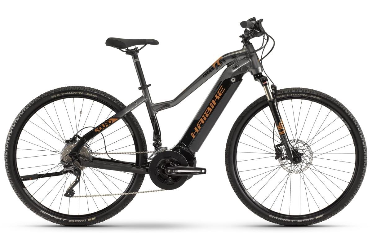 haibike damen elektro fahrrad sduro yamaha i500wh cross 6. Black Bedroom Furniture Sets. Home Design Ideas