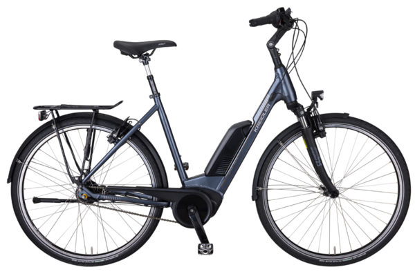 Kreidler City Elektro-Fahrrad Eco6 Bosch 500Wh 5-Gang Nexus Nabe Rücktritt blaugrau 2021
